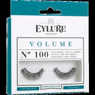 Eylure_Naturalites_sztuczne rzęsy efekt po grubienia z klejem 100, 1 opak.