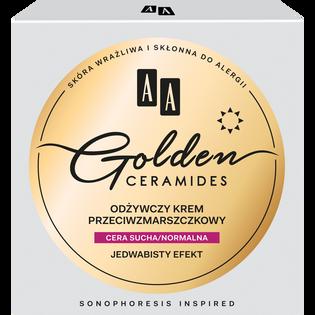 AA_Golden Ceramides_odżywczy krem przeciwzmarszczkowy do twarzy na dzień, 50 ml