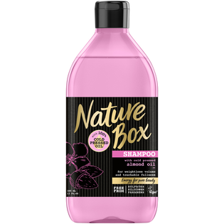 Nature Box_Migdał_szampon do włosów z olejkiem migdałowym, 385 ml