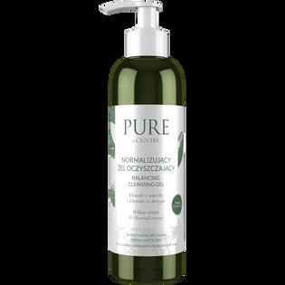 Pure By Clochee_normalizujący żel oczyszczający do twarzy, 200 ml