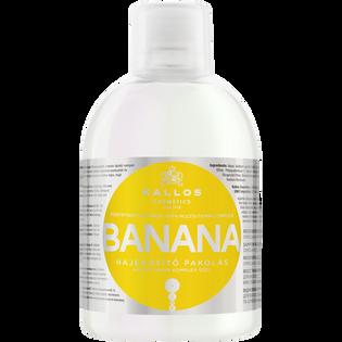 Kallos_Banana_wzmacniający szampon do włosów każdego rodzaju, 1000 ml