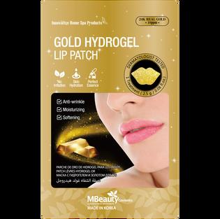 Mbeauty_Gold Hydrogel_nawilżająca maseczka hydrożelowa na usta, 2,5 g