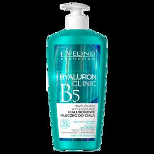 Eveline Cosmetics_Hyaluron Clinic B5_nawilżająco-wygładzające hialuronowe mleczko do ciała, 350 ml