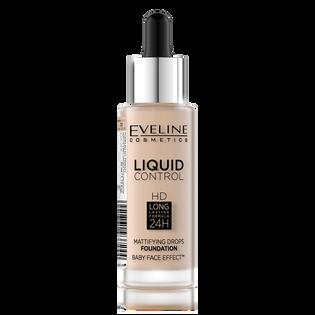 Eveline_Liquid Control_podkład do twarzy light beige 010, 32 ml