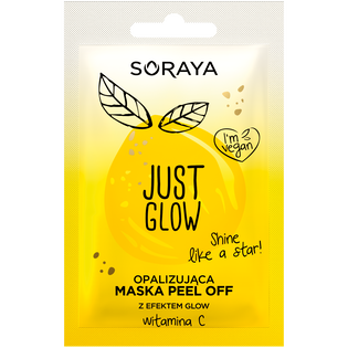 Soraya_Just Glow_opalizująca maska do twarzy peel off, 6 ml