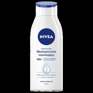 Nivea_błyskawicznie nawilżający balsam do ciała, 400 ml
