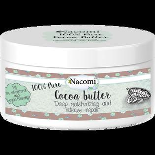 Nacomi_Masło kakaowe_ujędrniające naturalne masło do ciała, 100 ml