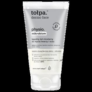 Tołpa_Dermo Face Physio_mikrobiom, łagodny żel do mycia twarzy i oczu, 150 ml