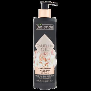 Bielenda_Camellia Oil_luksusowe mleczko do ciała z olejkiem babassu, 400 ml