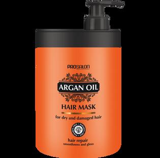Prosalon_Argan Oil_regenerująca maska do włosów, 1000 ml