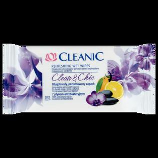 Cleanic_Clean & Chic_chusteczki odświeżające, 15 szt./1 opak._1