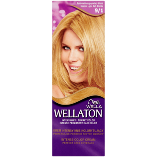 Wella_Wellaton_krem koloryzujący do włosów 9/1 rozświetlony popielaty blond, 1 opak.