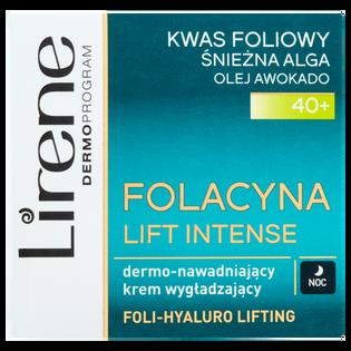 Lirene_Folacyna Lift Intense_krem nawadniający do twarzy na noc, 50 ml