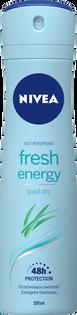 Nivea_Fresh Energy_antyperspirant damski w sprayu, 150 ml