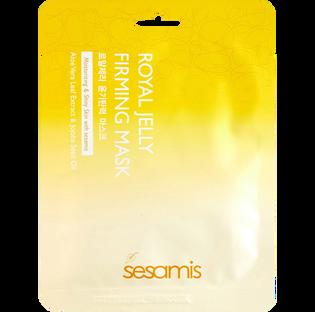 Sesamis_Royal Jelly_regeneracyjno odżywcza maseczka na płacie bawełny z mleczkiem pszczelim, 25 g