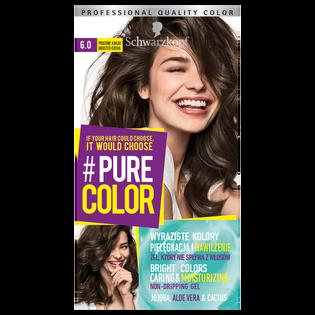 Schwarzkopf_Pure Color_farba do włosów 6.0 prażone kakao, 1 opak.