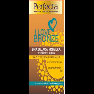 Perfecta_I Love Bronze_brązująca mgiełka rozświetlająca do ciała, 200 ml_2