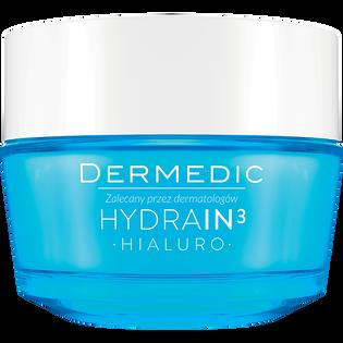 Dermedic_Hydrain3 Hialuro_nawilżający krem do twarzy o pogłębionym działaniu, 50 g