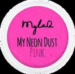 Mylaq My Neon Dust Pink