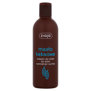 Ziaja_Masło Kakaowe_balsam do ciała do skóry normalnej i suchej, 300 ml