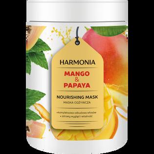 Harmonia_Mango & Papaya_odżywcza maska do włosów, 1000 g