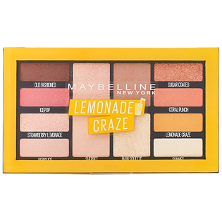 Maybelline_Lemonade Craze Eyeshadow_paleta cieni do powiek lemonade 01, 12 g