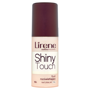 Lirene_Shiny Touch_fluid rozświetlający naturalny 104, 30ml