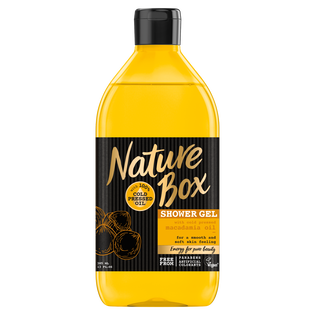 Nature Box_żel pod prysznic, 385 ml
