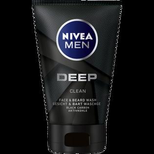 Nivea Men_Deep_żel do mycia twarzy i zarostu męski, 100 ml