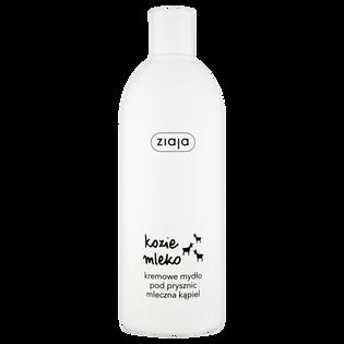 Ziaja_Kozie Mleko_mydło kremowe mleczna kąpiel pod prysznic, 500 ml