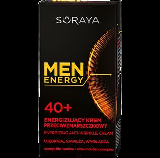 Soraya_Men Energy_energizujący krem przeciwzmarszczkowy do twarzy 40+ męski, 50 ml_2