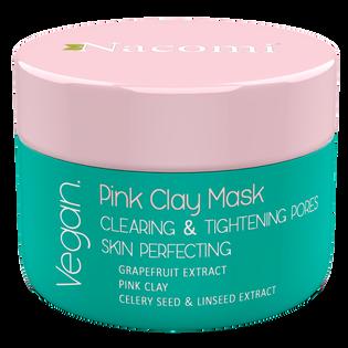 Nacomi_Różowa glinka_oczyszczająca pory maska do twarzy, 50 ml
