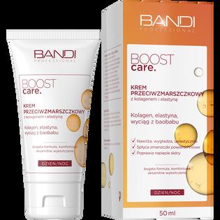 Bandi_Boost Care_krem przeciwzmarszczkowy z kolagenem i elastyną, 50 ml