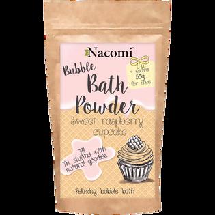 Nacomi_Sweet Raspberry cupcake_puder do kąpieli o zapachu malinowej babeczki, 100 g