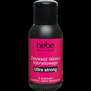 Hebe Professional_Ultra Strong_zmywacz lakieru hybrydowego, 150 ml