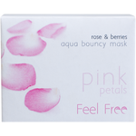 Feel Free Cosmos Rose & Berries Aqua Bouncy Mask