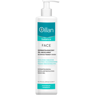 Oillan_Balance_żel micelarny do twarzy, 250 ml