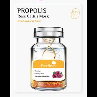 Pureheals_nawilżająco-rozświetlająca maska do twarzy z propolisem i komórkami macierzystymi róży, 25 g