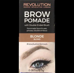 Revolution Makeup_Brow Pomade_pomada do stylizacji brwi blonde, 8 g