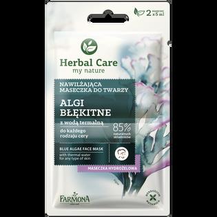 Herbal Care_Algi Błękitne_maska do twarzy, 2x5 ml/1 opak.