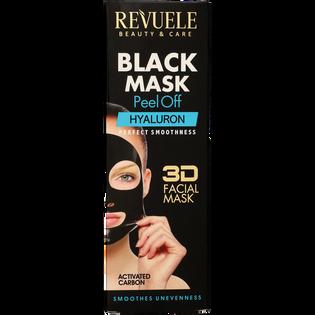 Revuele_Black Mask Peel Off Hyaluron_maska do twarzy, 80 ml_2