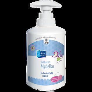 Skarb Matki_delikatne mydełko w płynie dla niemowląt i dzieci, 275 ml