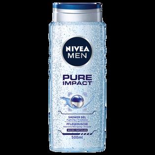 Nivea Men_Pure Impact_odświeżający żel pod prysznic męski, 500 ml