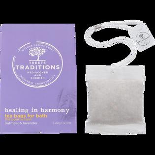 Treets Traditions_Healing in Harmony_woreczki herbaty do kąpieli, 3x60 g/1 opak.