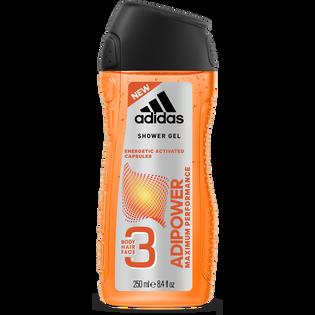 Adidas_Adipower_żel pod prysznic do twarzy, ciała i włosów męski, 250 ml