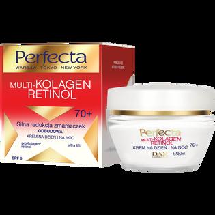 Perfecta_Multi-Kolagen Retinol_krem do twarzy redukujący zmarszczki na dzień i na noc 70+, 50 ml