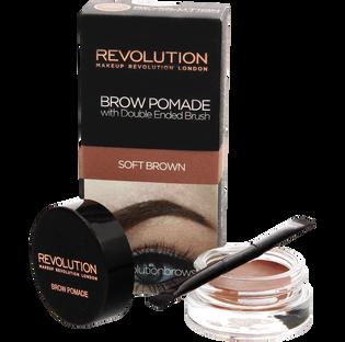 Revolution Makeup_Brown Pomade_pomada do stylizacji brwi soft rown, 8 g