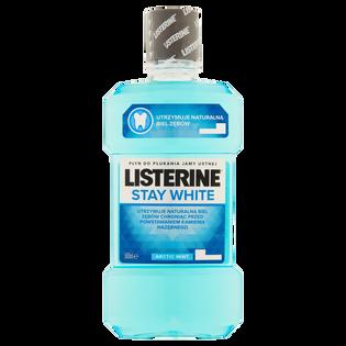 Listerine_Stay White_płyn do płukania jamy ustnej, 500 ml