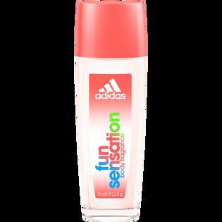 Adidas_Fun Sensation_dezodorant w naturalnym sprayu damski, 75 ml