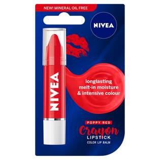 Nivea_balsam do ust w kredce poppy red, 3 g